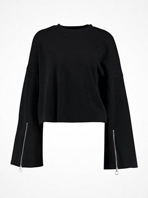 Even&Odd FLARED SLEEVE Sweatshirt black