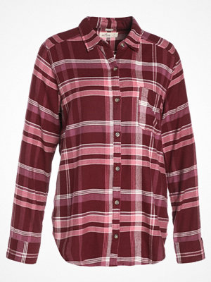 Hollister Co. Skjorta burgundy pattern