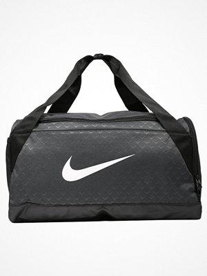 Nike Performance BRASILIA S DUFFEL GFX Sportväska anthracite/black/(white)