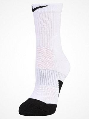 Nike Performance ELITE MID Träningssockor white/black