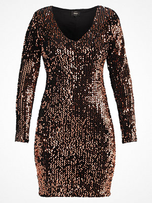 Only ONLCONFIDENCE Cocktailklänning black/sequins copper