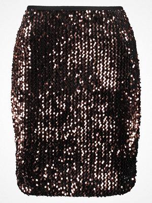 Only ONLCONFIDENCE Minikjol black/sequins copper