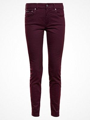 Polo Ralph Lauren SATEEN SKI Jeans slim fit vintage burgundy