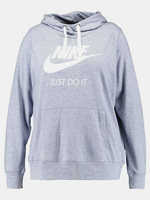 Nike Sportswear GYM VINTAGE Luvtröja glacier grey