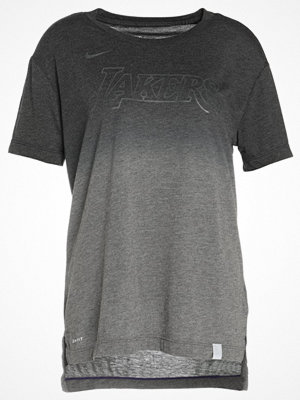 Nike Performance LOS ANGELES LAKERS Tshirt med tryck charcoal heather/black/court purple