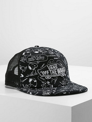 Kepsar - Vans CLASSIC PATCH PLUS TRUCKER Keps black