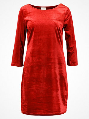 Vila VISIENNA Jerseyklänning scarlet sage