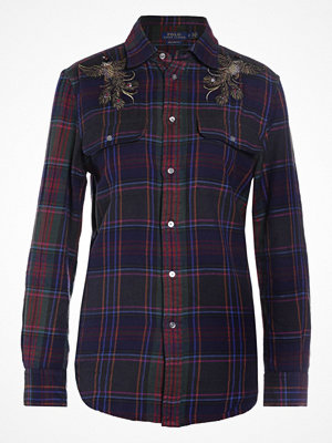 Polo Ralph Lauren NOVELTY FLANNELS Skjorta merlot/royal