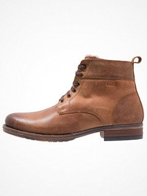 Boots & kängor - Salamander Snörstövletter tan