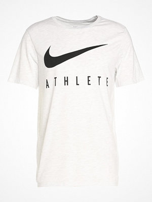 Sportkläder - Nike Performance DRY ATHLETE Tshirt med tryck white/black