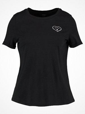 Vero Moda VMFRENCH  Tshirt med tryck black