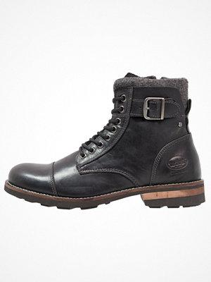 Boots & kängor - Dockers by Gerli Snörstövletter schwarz