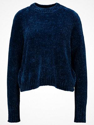 Even&Odd CHENILLE JUMPER Stickad tröja dark blue