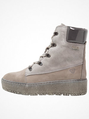 Boots & kängor - Tamaris Platåstövletter grey