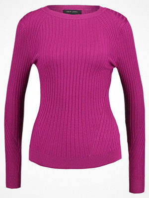 New Look TRAVELLING Stickad tröja dark pink