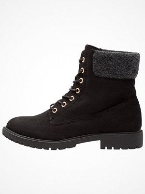 Boots & kängor - Anna Field Snörstövletter black