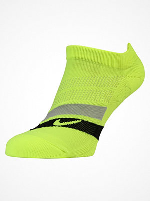 Nike Performance PERFORMANCE CUSHIONED NOSHOW RUNNING Ankelsockor volt/black/cool grey