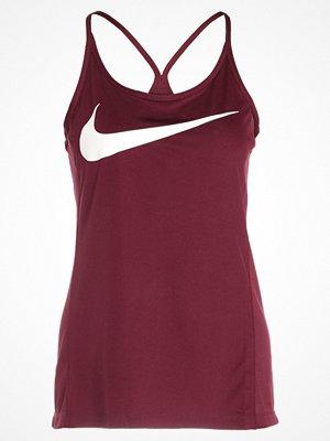 Sportkläder - Nike Performance DRY MILER  Funktionströja bordeaux/white/reflective silver