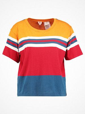 Levi's® Tshirt med tryck jerrold golden oak/oatmeal/moroccan blue/red dahlia