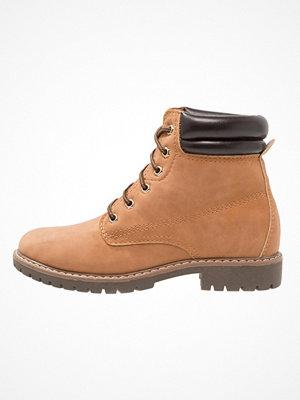 Boots & kängor - Anna Field Snörstövletter cognac