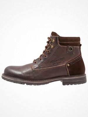 Boots & kängor - Dockers by Gerli Snörstövletter dunkelbraun
