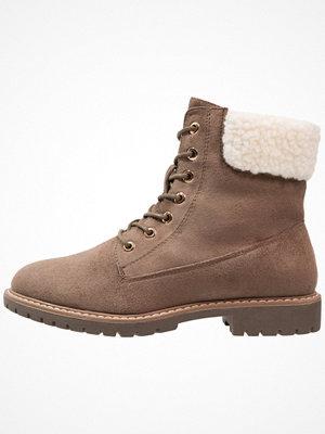 Boots & kängor - Anna Field Snörstövletter taupe