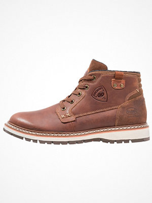 Boots & kängor - Dockers by Gerli Snörstövletter brown