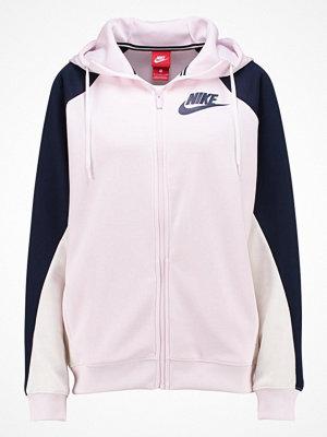 Street & luvtröjor - Nike Sportswear W NSW HOODIE FZ PK CB Sweatshirt pearl pink/obsidian/sail/(obsidian)