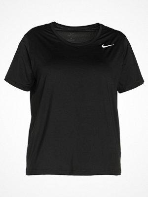 Sportkläder - Nike Performance Tshirt bas black/white