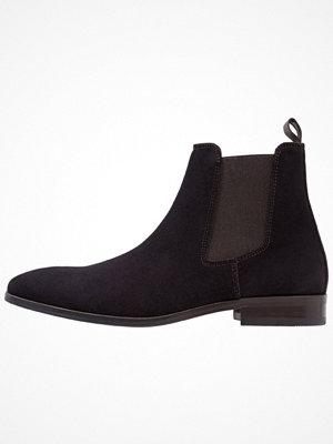 Boots & kängor - Brett & Sons Stövletter croute marine/marron