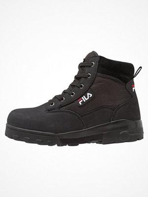 Boots & kängor - Fila GRUNGE MID Snörstövletter black