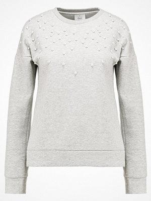 Only ONLDAMIAN Sweatshirt light grey melange/pearls