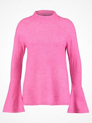 Wallis FLUTE SLEEVE COMPACT Stickad tröja pink