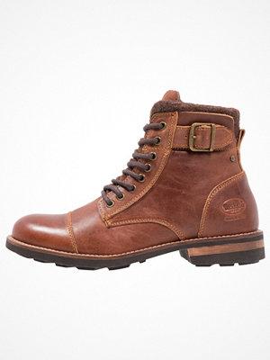 Boots & kängor - Dockers by Gerli Snörstövletter cognac