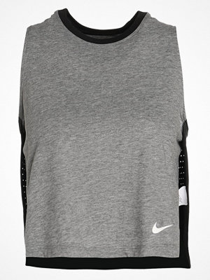 Nike Performance Funktionströja black/heather/white