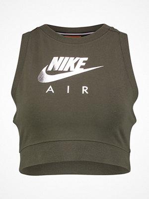 Nike Sportswear TANK CROP AIR Linne cargo khaki/cargo khaki
