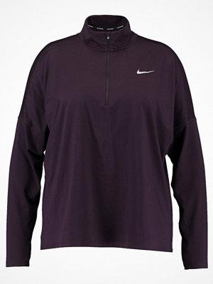 Sportkläder - Nike Performance DRY ELEMENT Funktionströja bordeaux heather/reflective silver