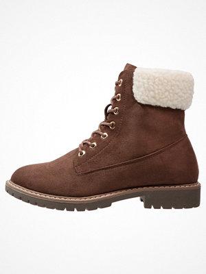 Boots & kängor - Anna Field Snörstövletter brown