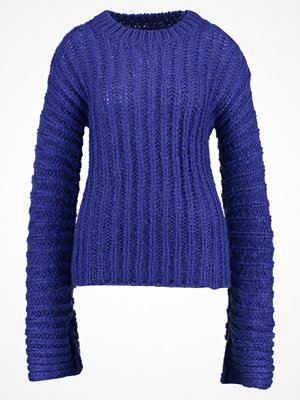 Topshop BOUTIQUE EXTREME LONG SLEEVE  Stickad tröja purple