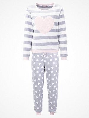 Pyjamas & myskläder - Dorothy Perkins HEART BACK TWOSIE SET Pyjamas grey