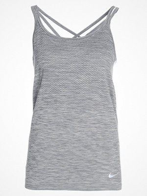 Nike Performance DRIFIT KNIT Funktionströja cool grey/heather/reflective silver