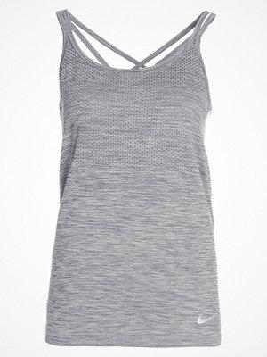 Sportkläder - Nike Performance DRIFIT KNIT Funktionströja cool grey/heather/reflective silver