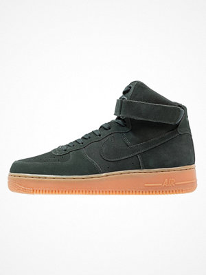 Nike Sportswear AIR FORCE 1 HIGH 07 LV8 SUEDE Höga sneakers outdoor green/med brown/ivory