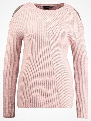 Dorothy Perkins COLDSHOULDER Stickad tröja pink