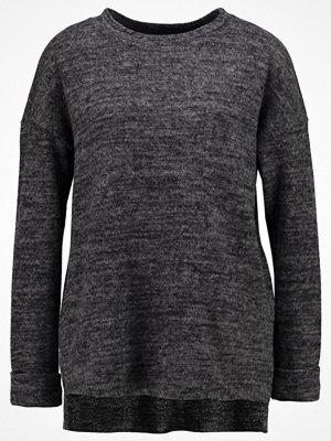 Vero Moda VMCHULA FALLON LS ONECK  Stickad tröja dark grey melange