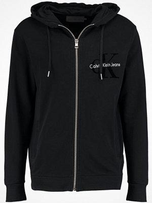 Street & luvtröjor - Calvin Klein Jeans HAWS Sweatshirt ck black