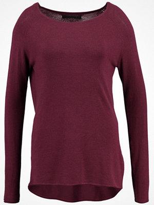Only ONLMILA LACY Stickad tröja port royale/w. melange