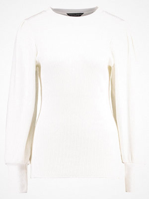 Dorothy Perkins MUTTON SLEEVE Stickad tröja ivory