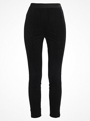Only ONLCHANETTE Leggings black/silver