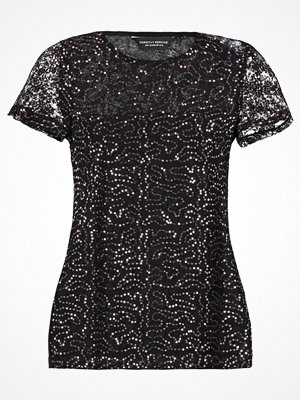 Dorothy Perkins BLACK FRIDAY SEQUIN LACE TEE Tshirt med tryck black